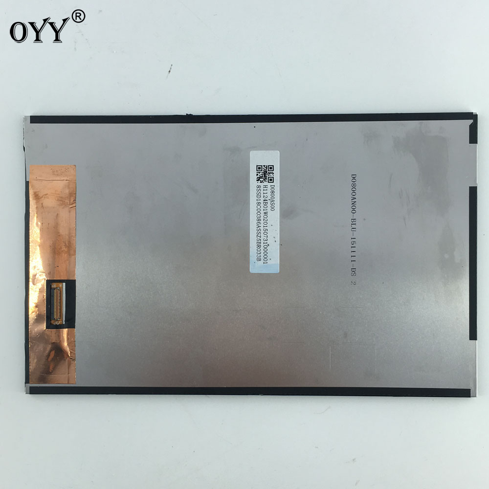 8 inch  LCD Screen Display Panel Replacement parts For Lenovo 2 TV080WXM-NL0 80WXM7040BZT 1A5423 A8-50LC tablet pc replacement lcd display for lenovo a8 50 tablet a5500