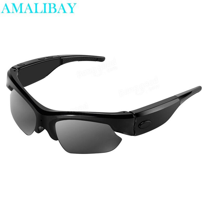 bilder für Gläser Mini Camcorder 1080 P Smart Bluetooth Musik Sonnenbrille Kamera Video Recorder Schießen Polarisator Eye Wear Wecam Kamera