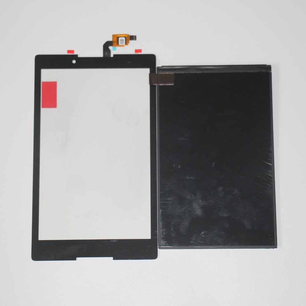 Galleria fotografica Touchscreen LCD For Lenovo TAB 2 A8-50 A8-50F A8-50LC Touch Screen Digitizer Sensor Glass+LCD Display Replacement Black