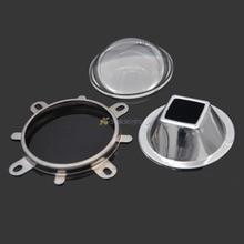 1 комплект 57 мм прозрачные линзы для воды+ 58 мм рефлекторный коллиматор корпус+ фиксированный кронштейн для 20 Вт-100 Вт Светодиодный светильник