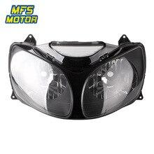цена на For 00-01 Kawasaki Ninja ZX-12R ZX12R ZX 12R Motorcycle Front Headlight Head Light Lamp Headlamp Assembly 2000 2001