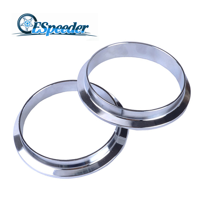 US $11 8 24% OFF ESPEEDER 3 0'' Mild Steel V Band Clamp Flange Male &  Female Flange Kit Turbo Exhaust Flange For Turbo Exhaust Pipe-in Hangers,  Clamps