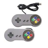 2pcs Game Controllers Retro Classic USB PC Gamepad Joypad Joystick for Super Nintendo SNES Windows for Raspberry pi 3 Controller