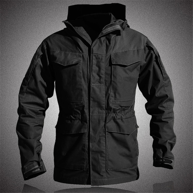 M65 Tactical Trench Coat...