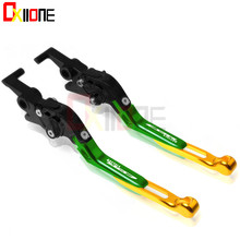 Motorcycle Adjustable Folding Extendable Brake Clutch Levers For Honda CBR150R 2004-2012 2011 free shipping new aluminum alloy 8 colors motorcycle folding extendable brake clutch levers for bmw g650gs 2011 2012