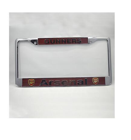 Free shipping New car styling license plate frame American standard for Arsenal high quality alloy plate 310mm*155mm accessories