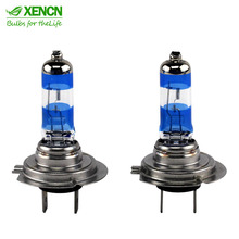 XENCN H7 12V 55W Silver Diamond Light Replacement Car Lighting Source Halogen Xenon Headlight