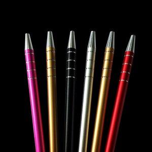 Image 5 - 1 ปากกาแกะสลัก + 10 ใบมีดTrimmersผมDIYทรงผมSalon Magicแกะสลักปากกาสแตนเลสตัดผมตัดผมกรรไกร