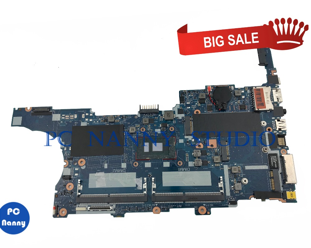 PCNANNY FOR HP EliteBook 840 G3 Laptop Motherboard 6050A2892401-MB-A01 <font><b>SR2FQ</b></font> <font><b>i7</b></font>-<font><b>6700HQ</b></font> GMA HD tested image