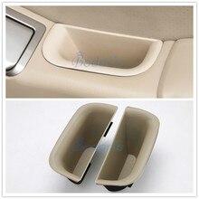 все цены на Car Styling Car Organizer Door Holder Armrest Storage Box Tray 2003-2009 For Toyota Land Cruiser 120 Prado FJ120 Accessories онлайн