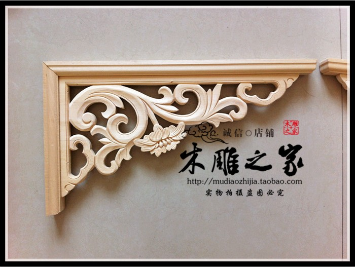 Dongyang woodcarving Style Floral applique wood lintel beam gun angle ceiling beams pass the entrance aisleDongyang woodcarving Style Floral applique wood lintel beam gun angle ceiling beams pass the entrance aisle