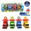 4 sztuk/zestaw skala modelu tayo mały autobus dzieci miniaturowe autobus plastikowe dziecko oyuncak garaż tayo autobus dzieci zabawki...