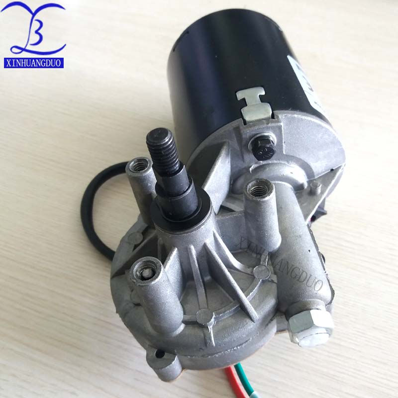 High Torsion Speed Reduce Electric Gearbox Motor Reversible Worm Gear Motor 8mm Shaft 24V 5RPM Luckya Speed Reduction Motor