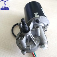 45RPM GW7085 dc 12 v 6N.m 6A low speed high torque worm gear reducer motor, wiper, barbecue grill motor right