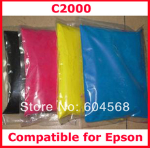 High quality compatible for Epson c2000/2000 color toner powder,4kg/lot,free shipping!