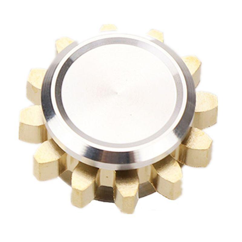 MINI Metal Gear Alliage Spinner Fidget centrifugeuse manuelle jouet Doigt EDC jouet concentration Le Soulagement Du Stress Cadeau