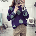 YiZiKKCO Brand Woman Sweaters Pullovers 2016 New Autumn Winter Knitted Sweater Womens Pullover Pull Femme Sweter Mujer WHD319