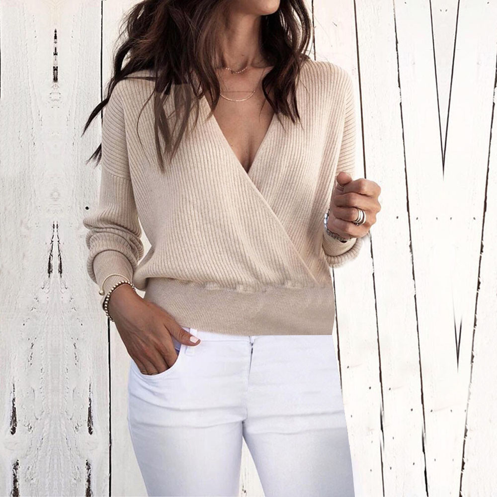 Women Warm Long Sleeve Sweater Short woman clothes ladies sweaters chompas de mujer invierno sueters de mujer chandail femme