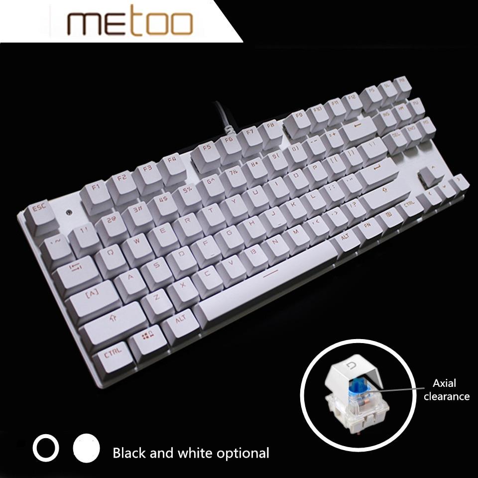 Metoo Backlit Gaming Original Механикалық - Компьютерлік перифериялық құрылғылар - фото 6