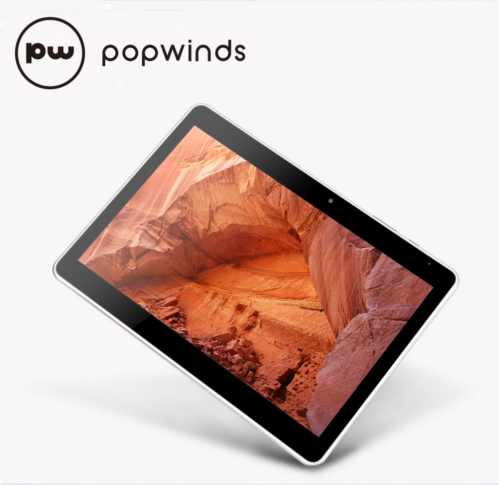 POPWinds Tablets10.1 inch Android 5.1 Marshmallow Octa Core 1920x1200 IPS 32GB ROM wifi Dual Camera Bluetooth 5500mAh Tablet PC