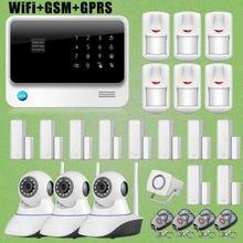 Etiger G90B WiFi GSM GPRS Autodi Intruder Antirrobo/Sistema de Alarma + HD Cámara de Red IP