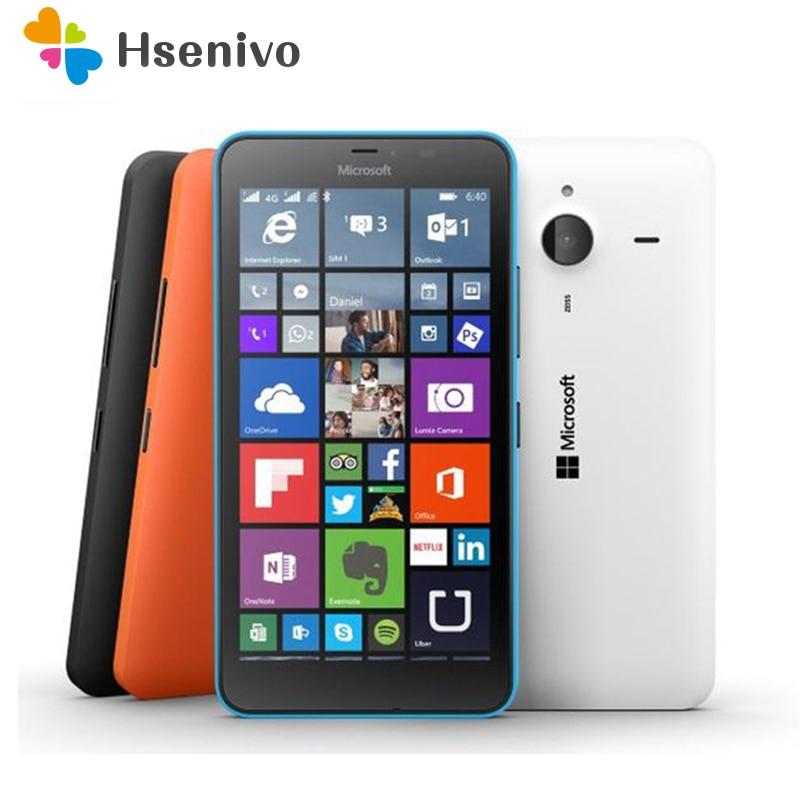 Original Nokia Lumia 640 & Lumia 640XL Single SIM & Dual SIM 5.0inch 8MP Quad Core 8GB ROM 1GB RAM Unlocked Touchscreen Good!