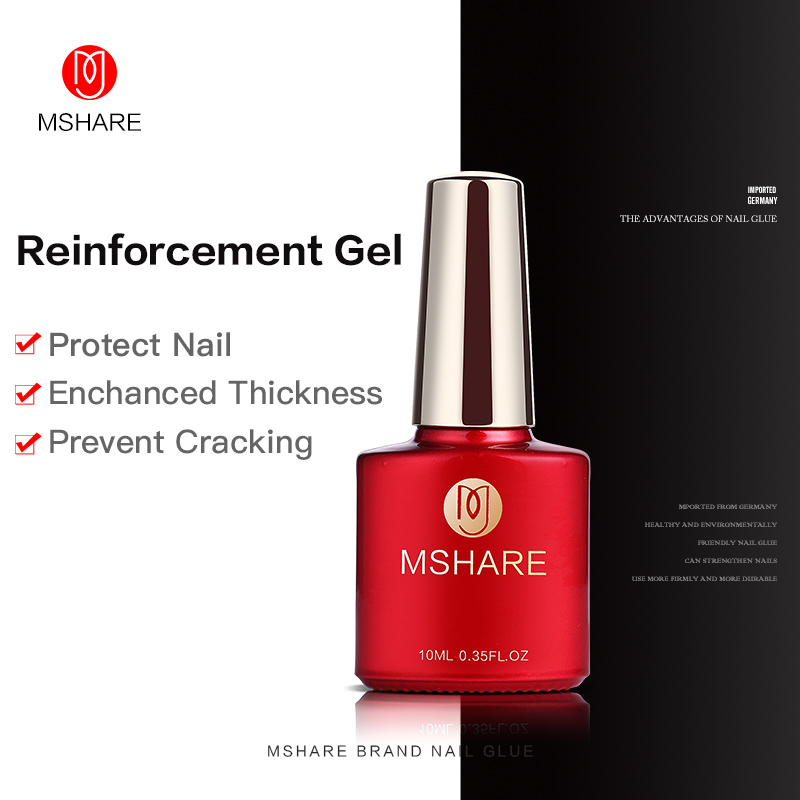 10ML MSHARE Reinforcement Gel Cleaning / No Clean Top Coat