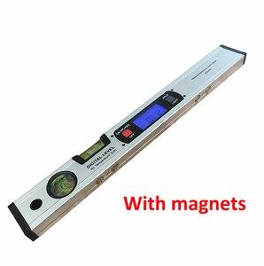 Image 3 - Digitale Gradenboog Hoekzoeker Inclinometer Elektronische Level 360 Graden Met/Zonder Magneten Niveau Hoek Helling Test Liniaal 400 Mm