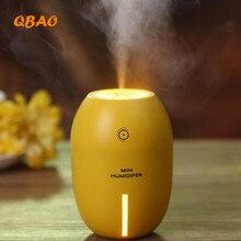 Aceite esencial difusor humidificador ultrasónico usb led de luz de colores de aire difusor de aroma aromaterapia difusor fabricante de la niebla nebulizador