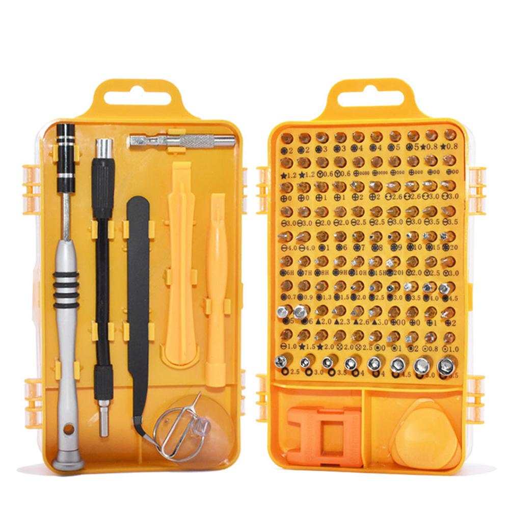 110 In 1 Precision Screwdriver Set Multi-function Computer PC Mobile Phone Cellphone Digital Electronic Device Repair Home Tools