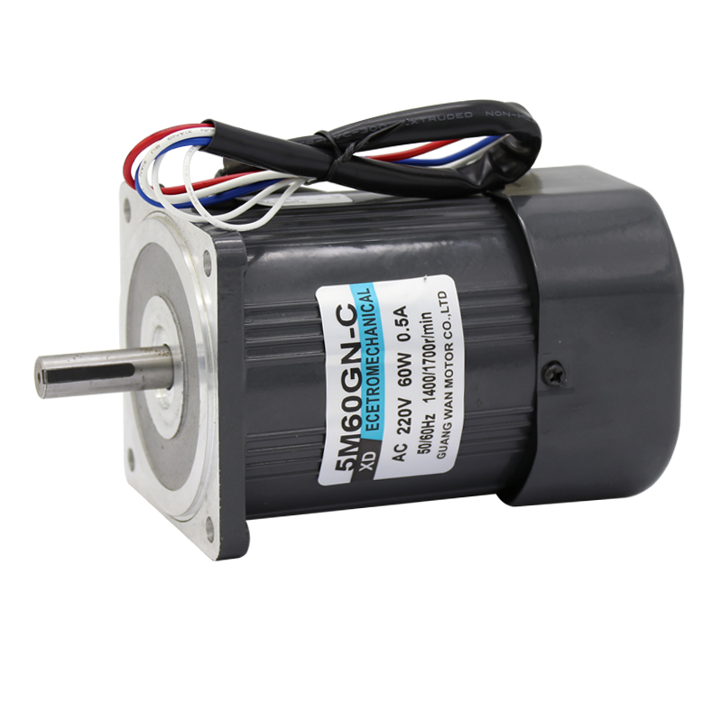 220V (AC motor + governor) optical axis high speed motor can rotate forward and reverse 60W miniature motor 1400rpm-2800rpm bringsmart 60w ac speed regulating motor 220v miniature optical axis motors 1400 1700 rpm high speed motor with speed governor