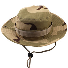 Camouflage Military Bucket Hats Fishing Fisherman Hunting Men Adult Safari Sun Protection Hiking Outdoor Hunter Cap