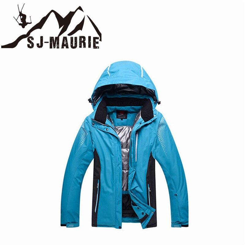 2018 unisexe veste de Ski imperméable coupe-vent respirant Snowboard veste d'hiver Sports de plein air manteau Super chaud