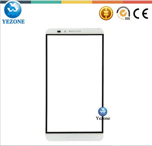 China fornecedor de acessórios do telefone celular para huawei ascend mate 7 vidro da frente, peças de reposição para huawei mate 7 vidro da tela