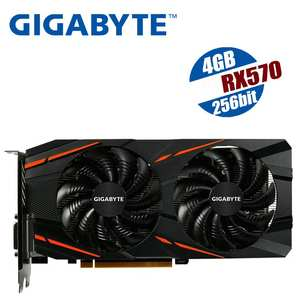 GIGABYTE Video-Card Gaming Gpu Mining Radeon AMD Hdmi-Rx580 RX570 570 4gb for Map