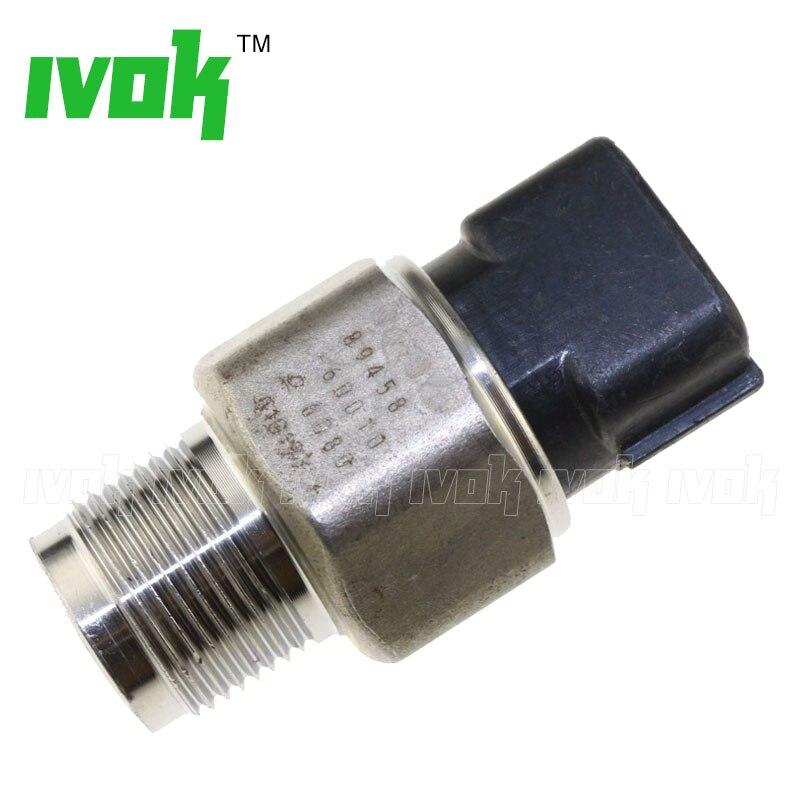 Free Shipping Genuine Fuel Rail Pressure Sensor For Toyota Land Cruiser KDJ120 KDJ125 1KD-FTV 3.0L 499000-6080 4990006080