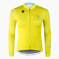 Spanish brand top quality winter thermal fleece Cycling Jersey bicycle Maillot Ciclismo invierno long Sleeve Cycling Jersey