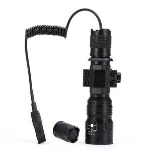 Image 2 - AloneFire TK104 CREE L2 светодиодный тактический зум пистолет, флэш светильник, пистолет, пистолет, страйкбол, фонарь светильник, лампа для охоты на открытом воздухе