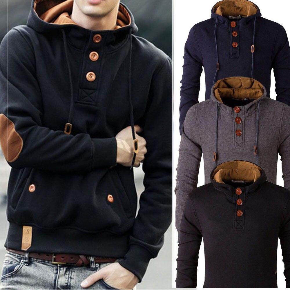 Hirigin зимние теплые парки Для мужчин зимние Куртки Для мужчин модные с капюшоном с длинным рукавом Мужские парки модные Дизайн верхняя одежд...