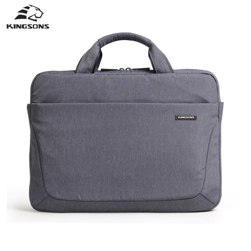 Kingsons Waterproof 14 Inch Laptop Handbag for Men and Women Business Travel Notebook Computer Briefcase Air Cell Shockproof notebook bag laptop messenger 11 12 13 14 15 for macbook air 13 case lenovo samsung dell asus waterproof travel briefcase