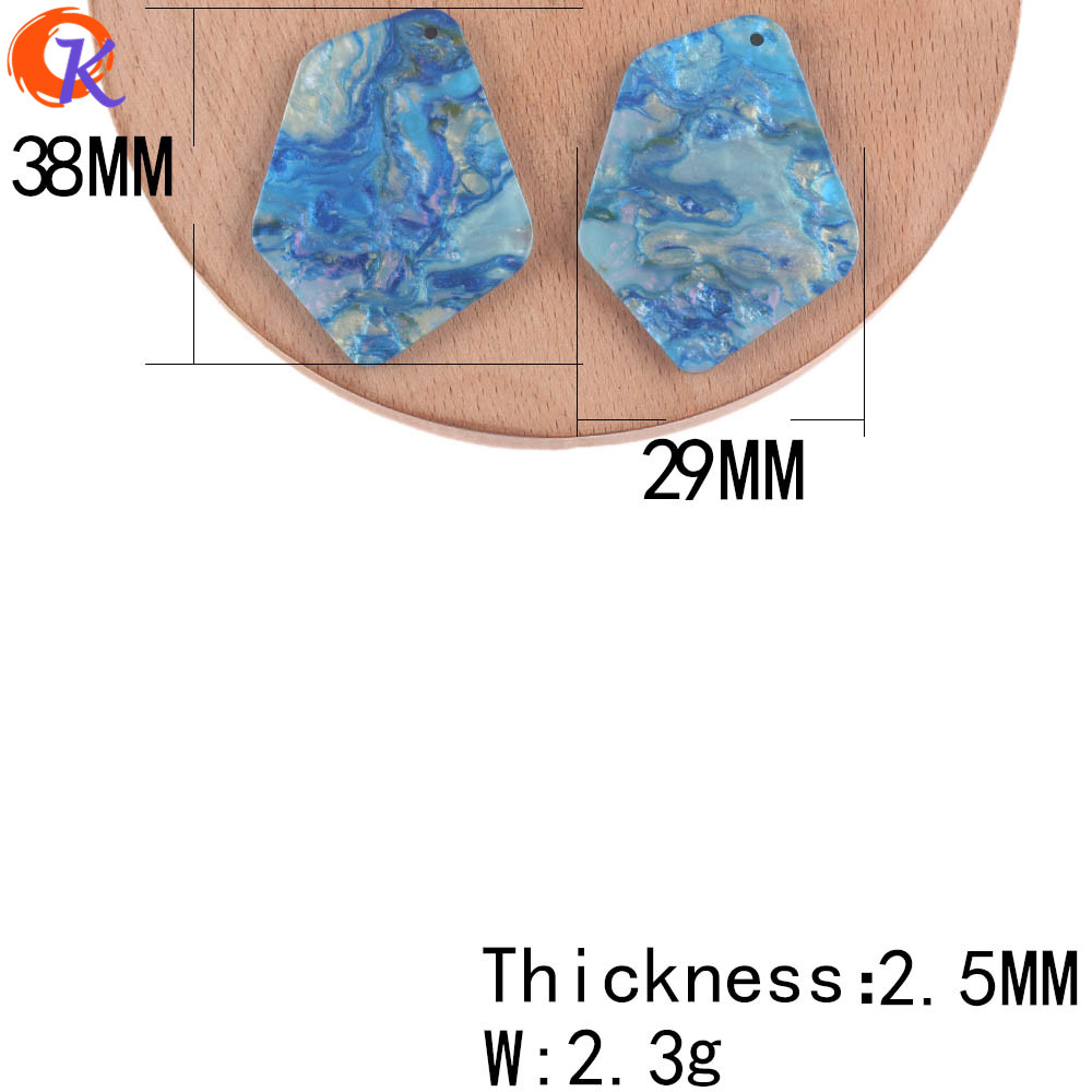 Image 3 - Cordial Design 29*38mm 100Pcs Jewelry Making/Earrings Parts/Irregular Shape/DIY Accessories/Hand Made/Jewelry Findings ComponentJewelry Findings & Components   -