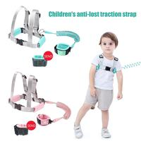 Baby Safety Walking Belt Anti lost Traction Strap With Lock Children Safety Rope Nonslip Wrist Ring Baby Walking Harnesses Leash