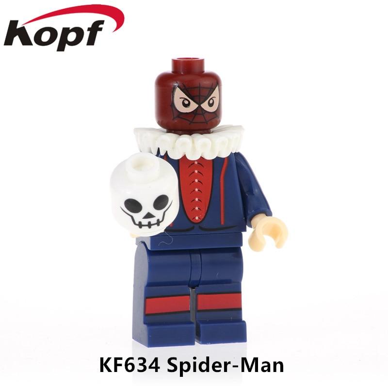 Kf634 Single Sale Super Heroes Building Blocks Figures Spiderman Deadpool Venom Wolverine Bricks Action For Children Toys Gift An Indispensable Sovereign Remedy For Home Toys & Hobbies