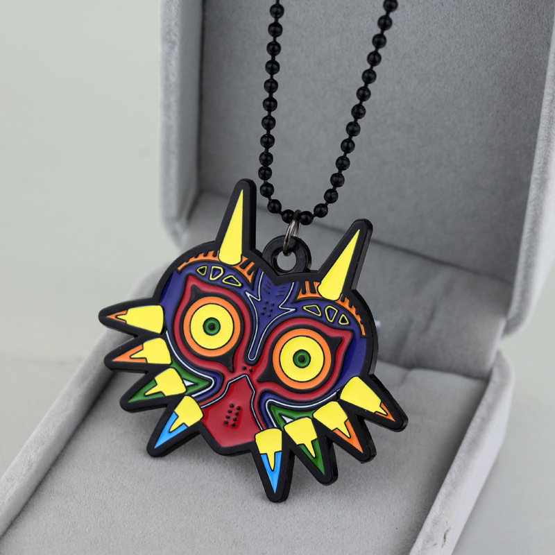 Legend Of Zelda Owl Logo Pebdant Necklace Cosplay Accessory Halloween Cosplay Anime Collectibles Holiday Birthday Gift