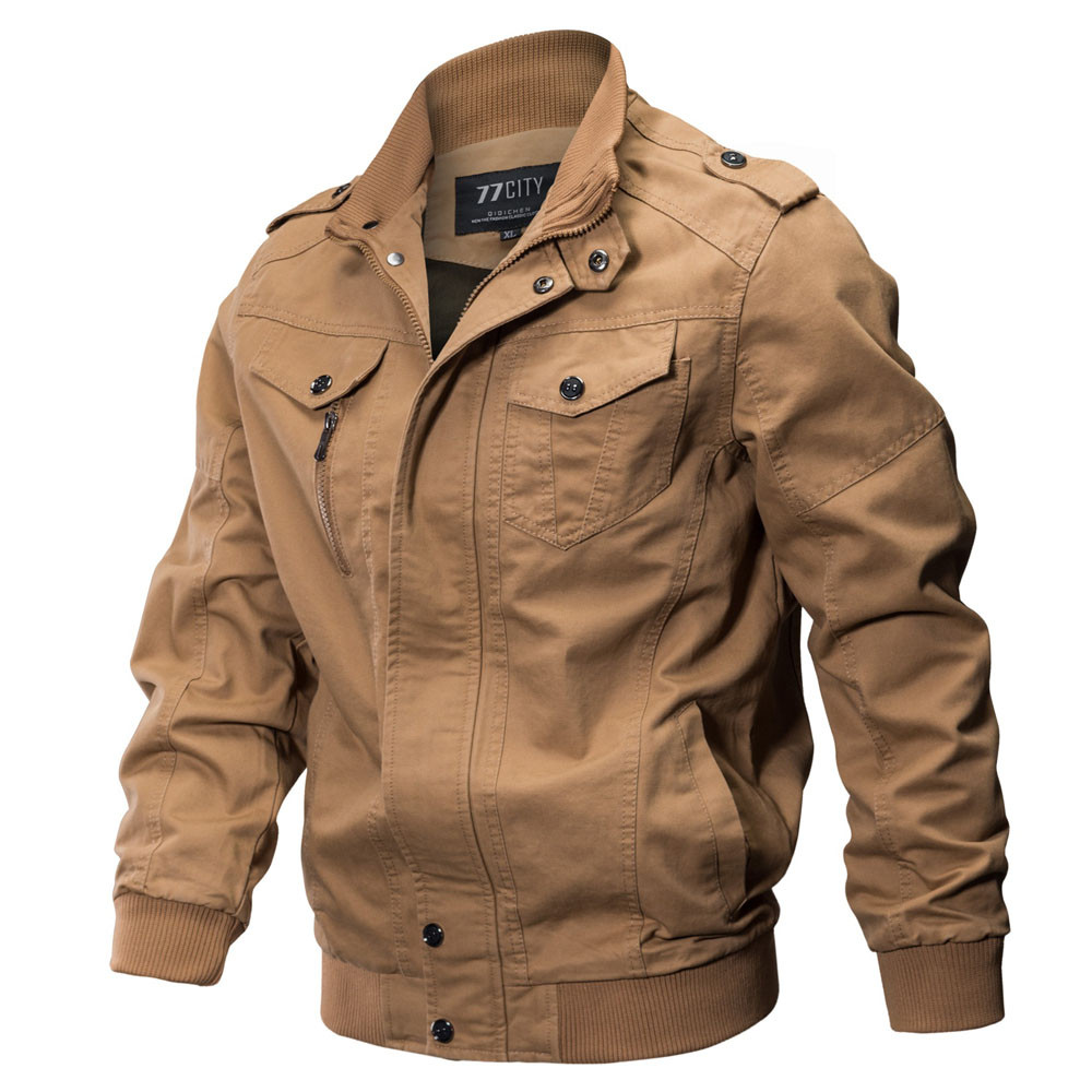 Men's Hunting Bomber Jacket Motorcycle Mountaineering Jackets Men Breathable Light Windbreaker Pilot Military Uniform Jacket color block panel bomber jacket