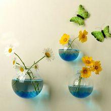 Стиль подвесная стеклянная ваза-шар цветочный горшок Террариум контейнер садовый Декор для дома комнаты украшения