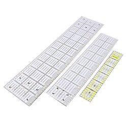 30/45/60 centímetros De Costura Quilting Patchwork Governante Ferramenta de Corte Grosso Transparente DIY