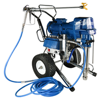 Multifunctional 9980 Electric Putty Spraying Machine Automatic Household Paint Coating Spray Paint Machine 220V 4500W 16L/min