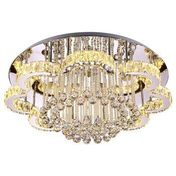 Accesorios De Luz De Techo Brillante   Moderno Brillante Flores Grandes Diamante Cristal LED Luces De Techo Sala De Estar Dormitorio Lámpara De Techo Atenuación Iluminación De Dormitorio
