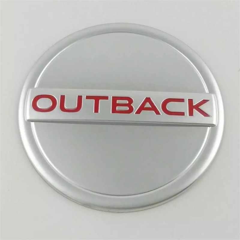 Автостайлинг АБС хромированный чехол на бак для Subaru Outback 2015 2016 2017 внешние